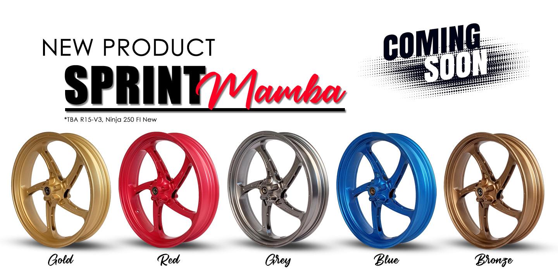 Sprint Mamba color selection
